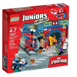 Lego - JUNIORS IL NASCONDIGLIO DI SPIDER-MAN