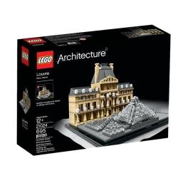 Lego - ARCHITECTURE LOUVRE 695PEZZO
