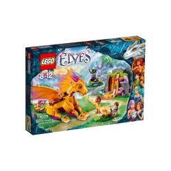 Lego - Elves La grotta lavica del Dragone di fuoco