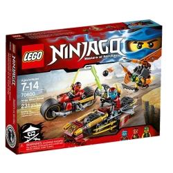 Lego - NINJAGO INSEGUIMENTO SULLA MOTO DEI NINJA