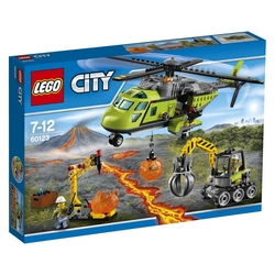 Lego - CITY ELICOTTERO DEI RIFORNIMENTI VULCANICO