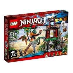 Lego - NINJAGO Isola di Tiger Widow - 70604