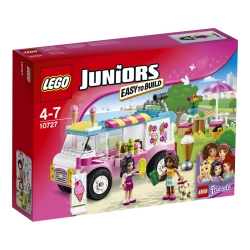 Lego - Juniors Il furgone dei gelati di Emma - 10727