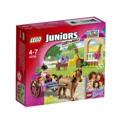 Lego - Juniors Il calesse di Stephanie - 10726