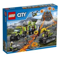 Lego - City Base delle esplorazioni vulcanica
