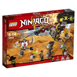 Lego - NINJAGO M.E.C. di salvataggio - 70592