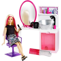 Mattel - SALONE D-BELLEZZA D-BARBIE