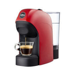 Lavazza - LM800 Tiny Libera installazione Semi-automatica Macchina per caffè con capsule 0.75L 1tazze Nero, Rosso