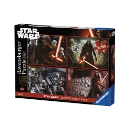 Ravensburger - PUZZLE PACK 4X100 STAR WARS
