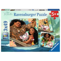 Ravensburger - PUZZLES 3X49 PEZZI