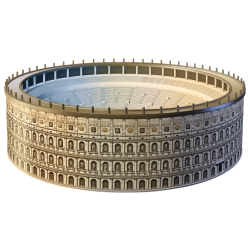 Ravensburger - PUZZLE 3D BUILD.COLOSSEO
