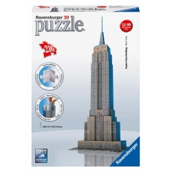 Ravensburger - PUZZLE 3D EMPIRE STATE BUILD.