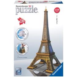 Ravensburger - Eiffel Tower 3D Puzzle, 216pc