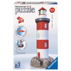 Ravensburger - PUZZLE 3D BUILD.FARO C.ROCCIA