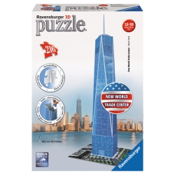 Ravensburger - PUZZLE 3D FREEDOM TOWER BUILD.
