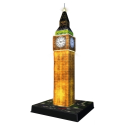 Ravensburger - PUZZLE 3D BIG BEN B.NIGHT