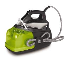 Rowenta - DG8550 2200W 1.3L Acciaio inossidabile Nero, Verde ferro da stiro a caldaia