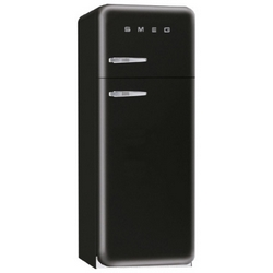 Smeg - FAB30RNE1 Libera installazione 229L 64L A++ Nero frigorifero con congelatore