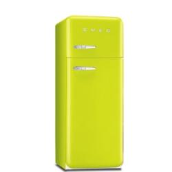 Smeg - FAB30RVE1 Libera installazione 229L 64L A++ Verde frigorifero con congelatore