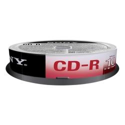 Sony - CD-R 700 MB (80 min), 10 pk 700MB 10pezzo(i)