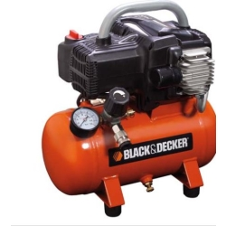 Black+Decker - COMPRESSORE 6LT OILLES