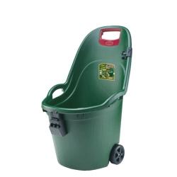 Stefanplast - Carriola da giardino Helpy in materiale plastico color verdone 50 LT
