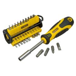 Stanley - STHT0-70885 Set Cacciavite multifunzione cacciavite manuale/set