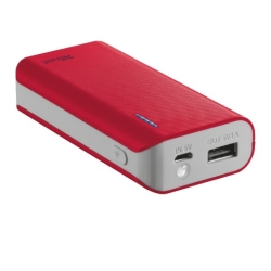 Trust - POWER BANK UR PRIMO 4400 RED