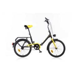 DINO BIKES - Bici Pieghevole 20 Nero