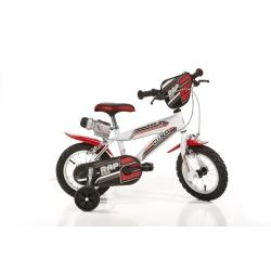 DINO BIKES - 412US Ragazzi Metallo Bianco bicicletta