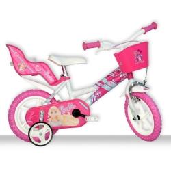 DINO BIKES - 126RL BA Ragazze Città Metallo Rosa bicicletta