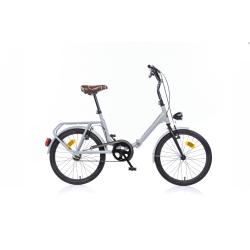 DINO BIKES - Bici Pieghevole 20 Grigio/Nero