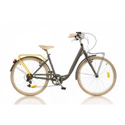 DINO BIKES - 1026CYC Adulto unisex Città Metallo Grigio bicicletta