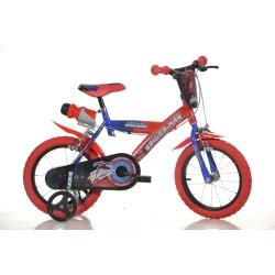 DINO BIKES - Spiderman Ragazzi Città Metallo Blu, Rosso bicicletta