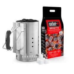 Weber - 17631 Cesto separa carbone accessorio per barbecue/grill