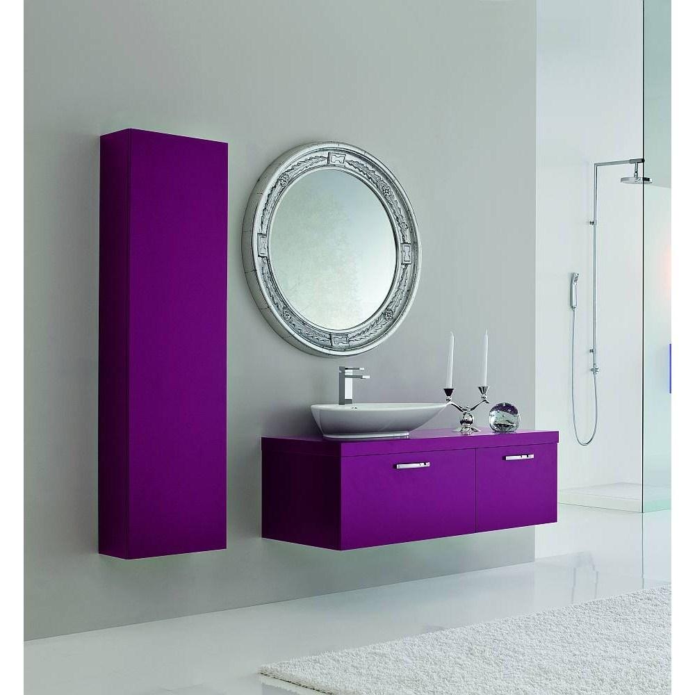 collezione bagni moderno arredo bagno linea dual - shop online su ... - Arredo Bagno Viola
