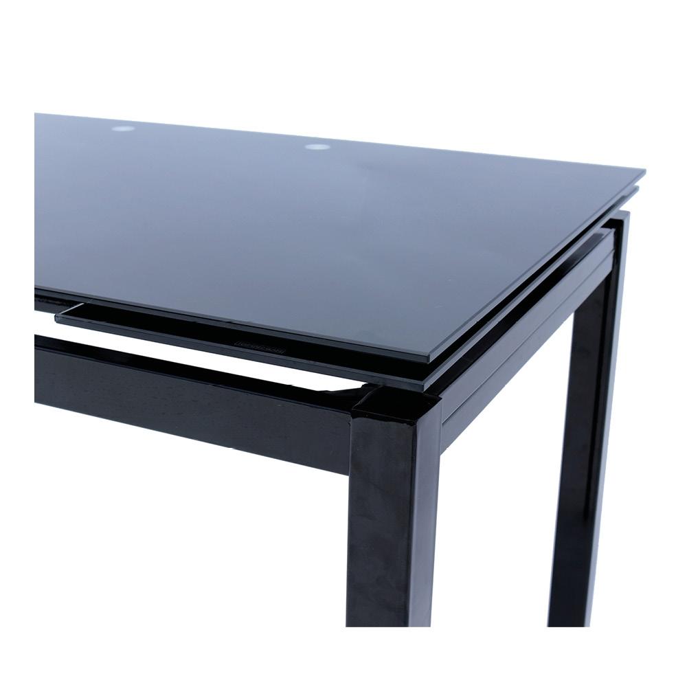 G tavoli tavolo allungabile melody nero shop online su for Tavolo nero allungabile