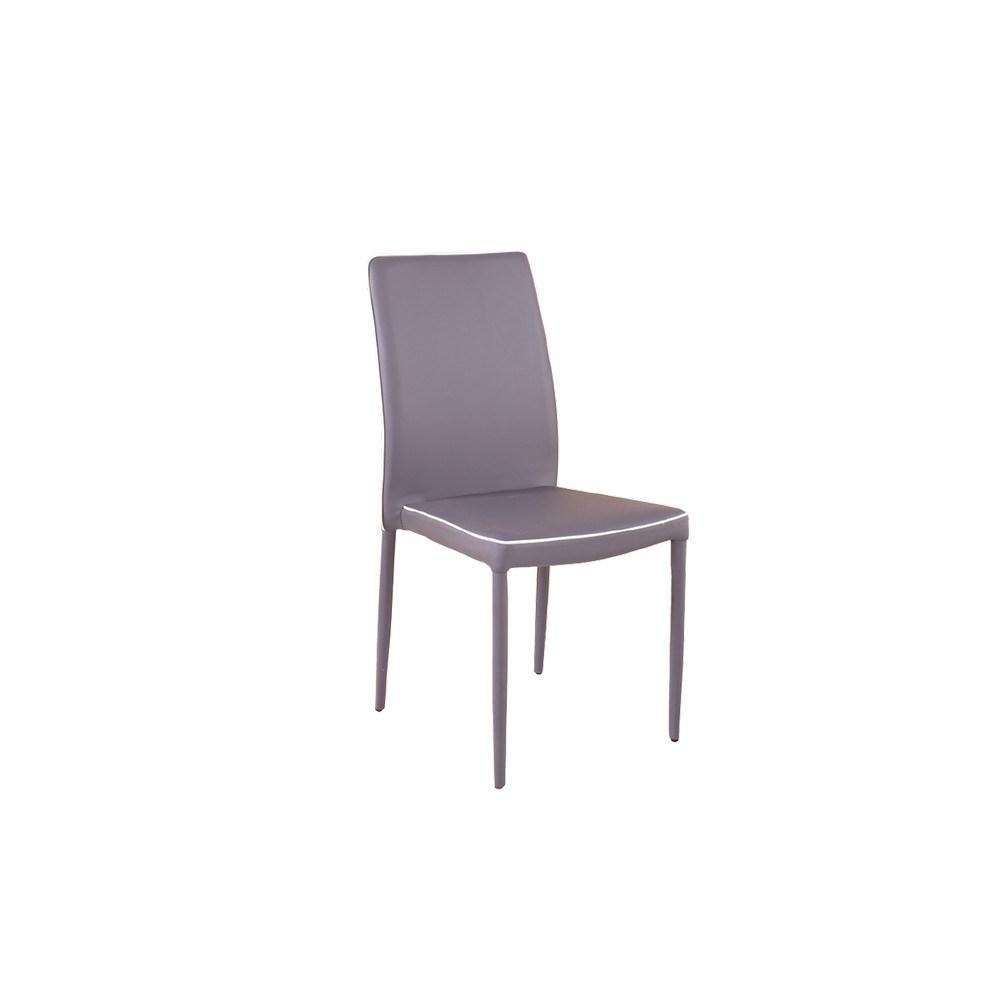 G sedie arredo sedia onix grigio scuro shop online su for Sedie arredo