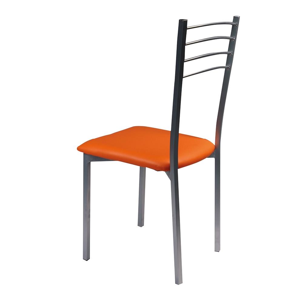 G sedie arredo sedia floriana arancio shop online su for Arredo shop on line