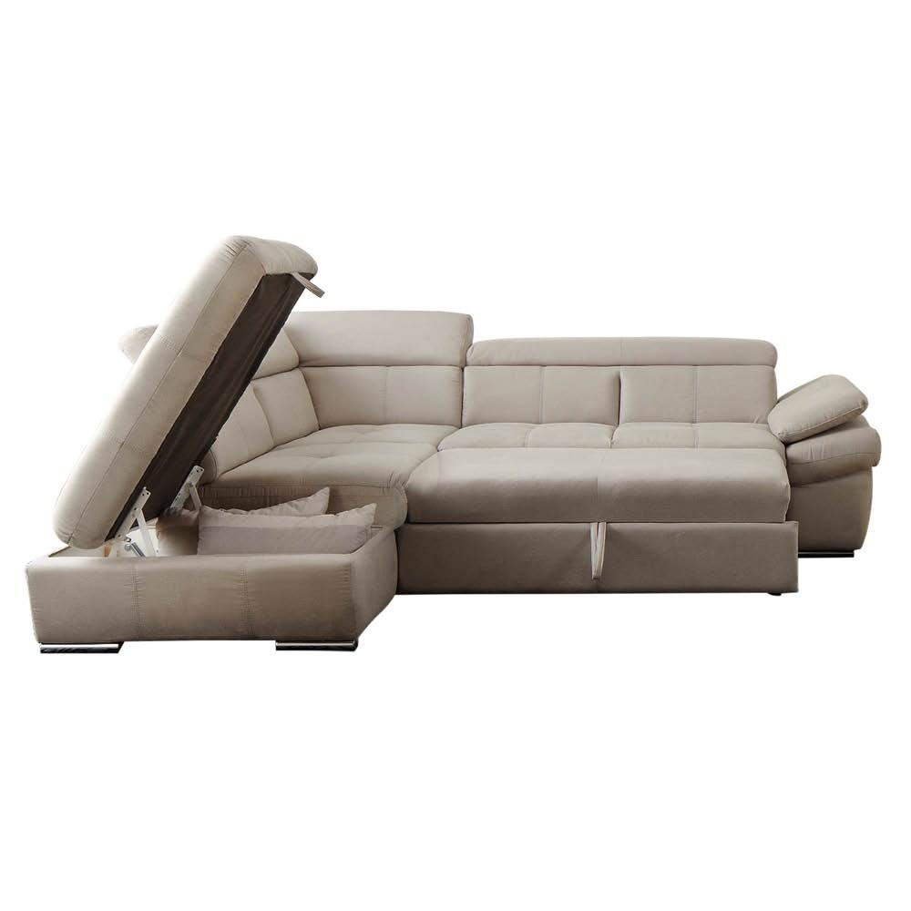 Collezione gransofa 39 pelle divano letto angolare shop for Mobili per divani