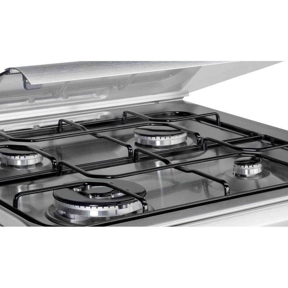 Indesit Cucine I6TMH2AF(X)/I Libera installazione Piano cottura a ...