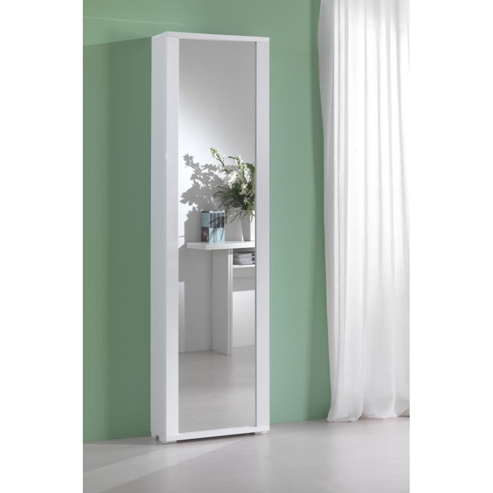 G mobili multiuso mobile multiuso bianco el 328 sp shop - Scarpiera a specchio ...