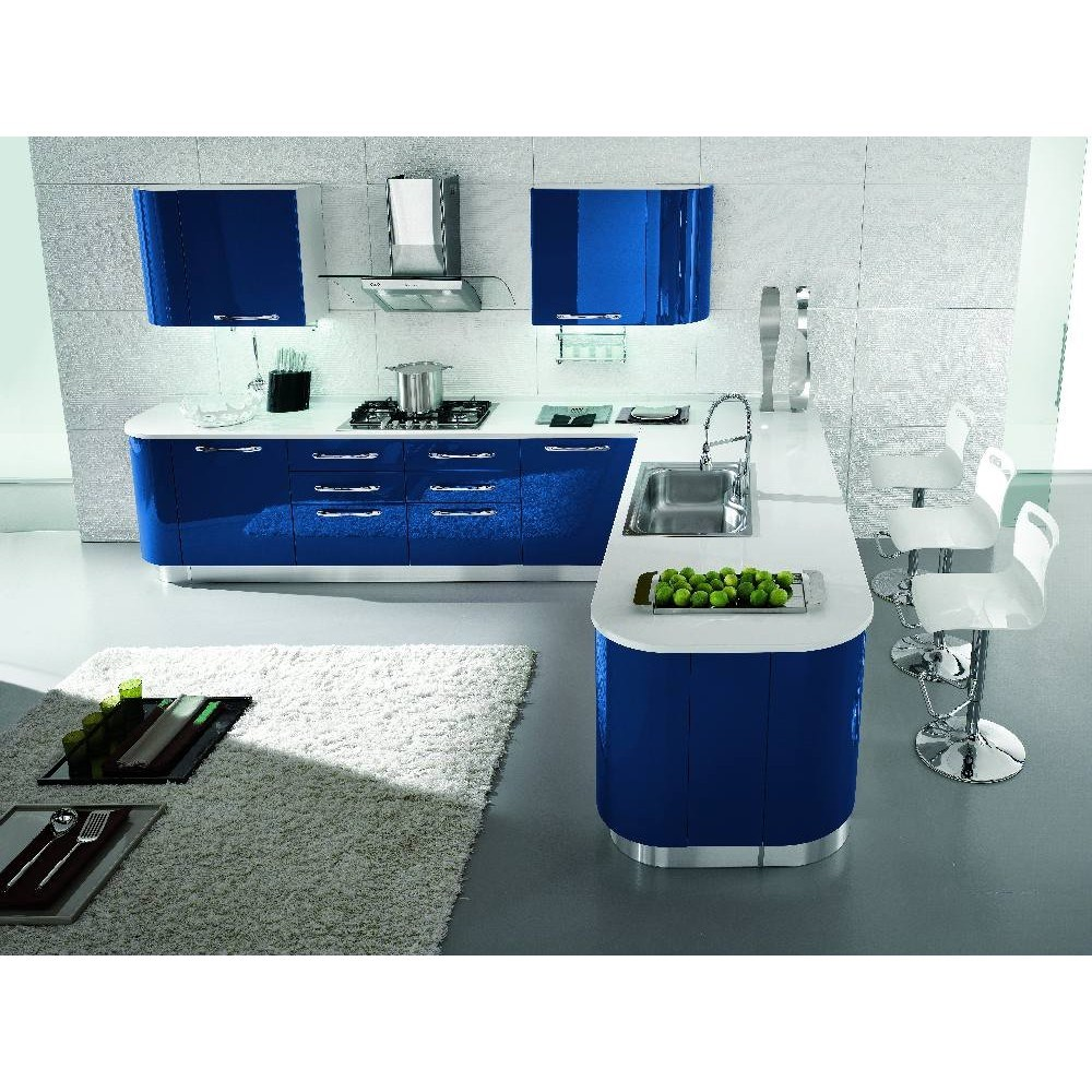 Top cucine moderne colorate qd02 pineglen for Cucine shop on line
