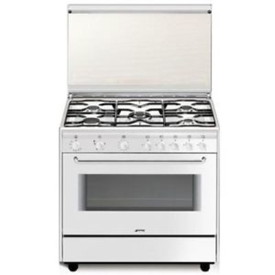Smeg Cucine SB91GV9 Libera installazione Gas hob A Bianco cucina ...