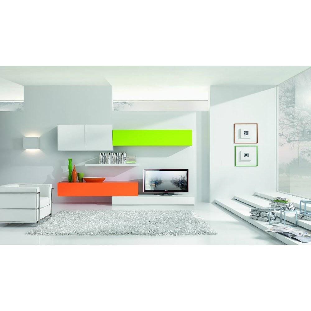 Soggiorni grancasa madia effetto olmo bianco lucido quebec parete soggiorno zyn awesome - Grancasa nerviano ...