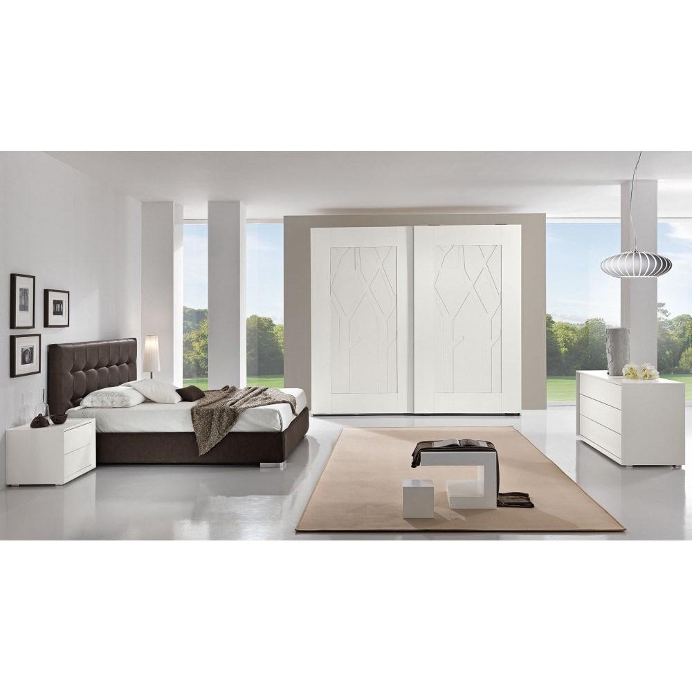 Collezione top camere moderne camere da letto centopercento shop online su grancasa - Camere da letto moderne milano ...