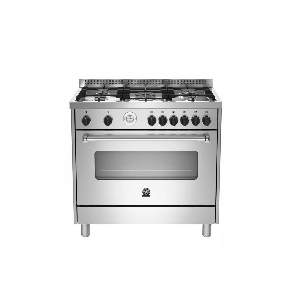Bertazzoni la germania cucine cucina ams95 c71bx inox gas - La germania cucina ...