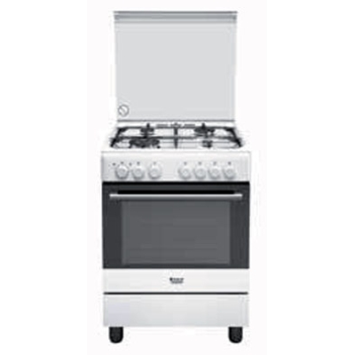 Hotpoint Ariston Cucine H6TMH2AF (W) IT Libera installazione Piano ...