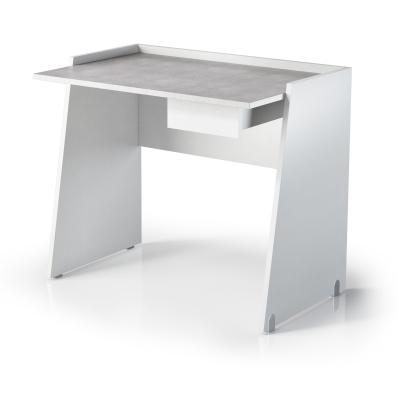 G scrivanie scrivania con cassetto 90x60x80 bianco shop online su grancasa - Scrivanie grancasa ...