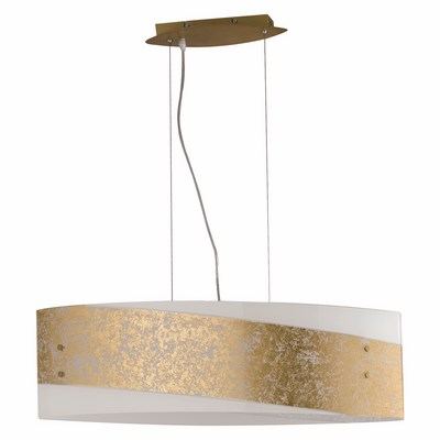 Fan europe lampadari sospensione 75x20 paris oro 4xe27 max for Brico lampadari